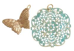 Vintaj Vogue Butterfly Filigree Assortment