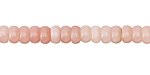 Pink Opal (Stabilized) Rondelle 6mm