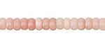 Pink Opal Rondelle 6mm