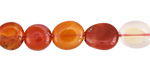 Carnelian (natural) Tumbled Nugget 8-12x8-10mm