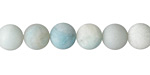Amazonite (matte multi-color) Round 8mm