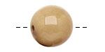 Tagua Nut Parchment Round 20mm
