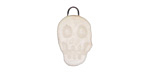 Gaea Ceramic Cream Skull Charm 12x20mm
