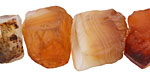 Carnelian (natural) Rough Nugget 13-24x16-20mm