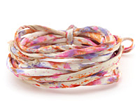Sunrise Recycled Sari Silk Cord