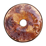 Patricia Healey Copper Textured Large Washer 7x44mm