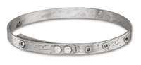 TierraCast Antique Tin (plated) Bangle