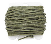 Olive Drab Irish Waxed Linen 12 ply