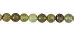 Green Garnet Faceted Round 6mm