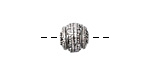 Zola Elements Antique Silver (plated) Decorative Round 10mm