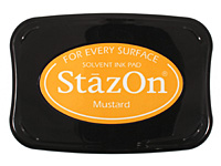 StazOn Mustard Solvent Ink Pad