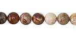 Wood Opalite Round 8mm