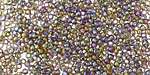 Rainbow Black Diamond Round 11/0 Seed Bead