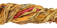 Golden 100% Silk Sari Ribbon