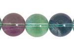 Rainbow Fluorite Round 16mm