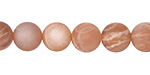 Peach Moonstone (matte) Round 10mm