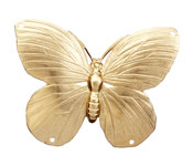 Brass Butterfly 2-2 Link 51x37mm