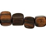 Ebony Wood Freeform Pillow 16-20x11-18mm