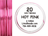 Parawire Hot Pink 20 Gauge, 6 Yards