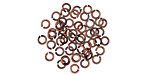 Antique Copper (Plated) Round Jump Ring 3mm, 22 Gauge