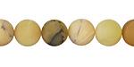 Yellow Opal (matte) Round 10mm
