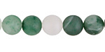 Green Chalcedony (matte) Round 10mm