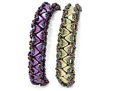 Zipper Bracelet Pattern for CzechMates