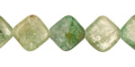 Green Kyanite Diamond 14mm