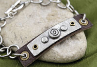 TierraCast Spiral Tagged Bracelet Kit
