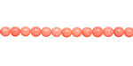 Pink Coral Round 4mm
