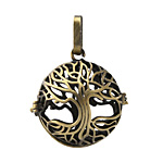 Antique Brass (plated) Tree of Life Diffuser Locket 25x37mm