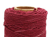 Burgundy Hemp Twine 20 lb, 205 ft