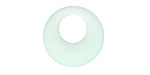 Seafoam Recycled Glass Gypsy Hoop 20mm