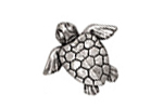 Green Girl Pewter Baby Honu Pendant 27x25mm