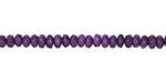 Purple Agate Faceted Rondelle 2x4mm