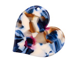 Zola Elements Twilight Acetate Heart Focal 35mm