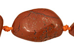 Red Jasper Tumbled Nugget 31-34x15-25mm
