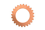 Copper Large Open Gear 25mm