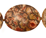 Bird's Eye Rhyolite Freeform Slab Graduated 28-42x20-37mm