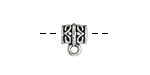 Zola Elements Antique Silver (plated) Ornate Slide Bail 8.3x11mm