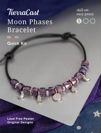 TierraCast Moon Phases Bracelet Kit