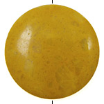 Yellow Jasper Puff Coin 45mm