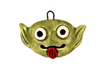 Earthenwood Studio Ceramic Spookyhead Gobbie Pendant 30x21mm