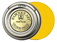 Canary Yellow Baroque Art Gilders Paste 30ml