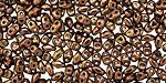 Dark Bronze MiniDuo 2x4mm Seed Bead
