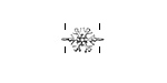 Zola Elements Antique Silver (plated) Tiny Snowflake Focal Link 13x8mm