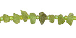 Peridot Side-Drilled Rough Nugget 4-6x6-10mm