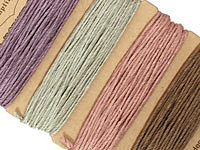 Vintage Hemp Twine 20 lb, 29.8 ft x 4 colors
