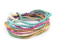 Island Breeze 100% Silk Sari Ribbon Cord