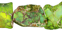 Apple Green Impression Jasper Slab 40-60x30-40mm
